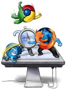Pelea-navegadores
