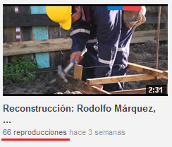 Reproducciones de video en YouTube