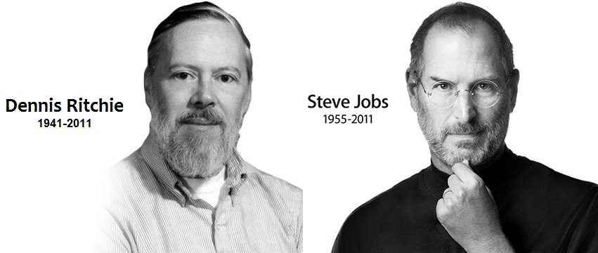Dennis Ritchie - Steve Jobs