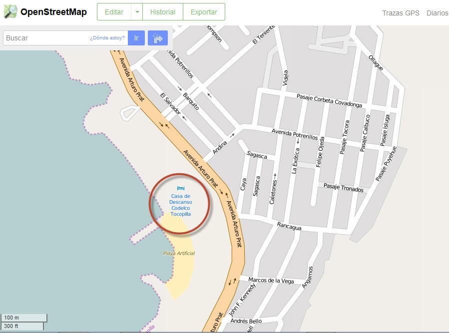 OpenStreetMap corregido