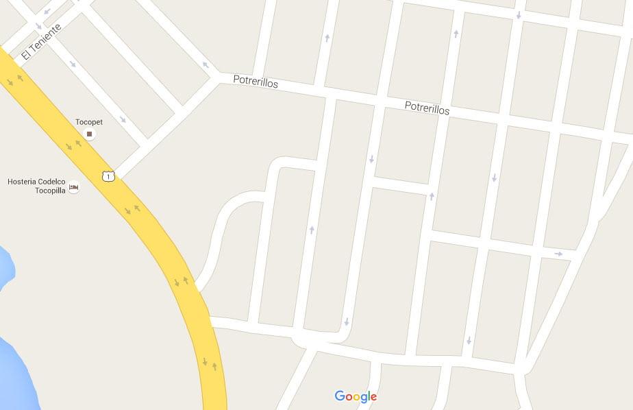 Google Maps Tocopilla